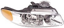 1996 - 1999 Plymouth Voyager Headlight Assembly (with Quad Headlamps) - Right (Passenger)