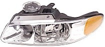 1996 - 1999 Plymouth Voyager Headlight Assembly (with Quad Headlamps) - Left (Driver)
