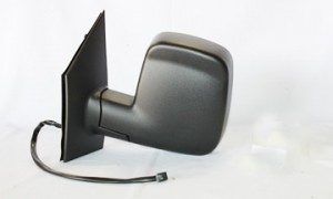 2003-2007 Chevrolet (Chevy) G Van Side View Mirror (Power Remote / without Signal Repeater Lamp) - Left (Driver)