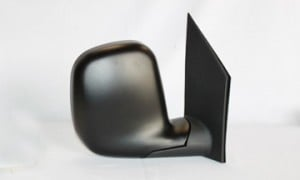 1996-2002 Chevrolet Chevy G Van Side View Mirror (Late Design / Power Remote / Convex) - Right (Passenger)