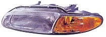 1996 - 2000 Chrysler Sebring Headlight Assembly - Left (Driver)