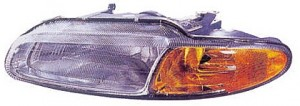1996-2000 Chrysler Sebring Headlight Assembly - Left (Driver)