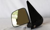 1998 - 2002 Mazda B2500 Side View Mirror (Non-Heated / Manual / Post-mount / Textured Black- Left (Driver)