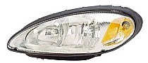 2001 - 2005 Chrysler PT Cruiser Front Headlight Assembly Replacement Housing / Lens / Cover - Left (Driver)