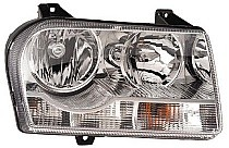2005 - 2007 Chrysler 300 + 300C Front Headlight Assembly Replacement Housing / Lens / Cover - Right (Passenger)