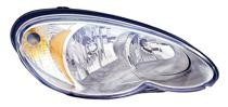2006 - 2010 Chrysler PT Cruiser Headlight Assembly - Right (Passenger)