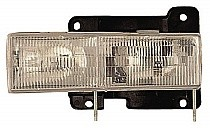 1992 - 1999 Chevrolet (Chevy) Suburban Front Headlight Assembly Replacement Housing / Lens / Cover - Right (Passenger)