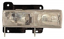 1992 - 1999 GMC Jimmy Front Headlight Assembly Replacement Housing / Lens / Cover - Left (Driver)