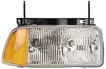 1994 - 1997 GMC S15 Front Headlight Assembly Replacement Housing / Lens / Cover - Right (Passenger)