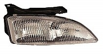 1995 - 1999 Chevrolet (Chevy) Cavalier Front Headlight Assembly Replacement Housing / Lens / Cover - Right (Passenger)