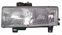 1996 - 2002 Chevrolet (Chevy) Express Front Headlight Assembly Replacement Housing / Lens / Cover - Right (Passenger)