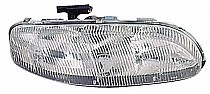 1995 - 1999 Chevrolet (Chevy) Monte Carlo Front Headlight Assembly Replacement Housing / Lens / Cover - Right (Passenger)