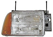 1995 - 1997 Chevrolet (Chevy) S10 Blazer Headlight Assembly - Right (Passenger)