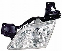 2005 Pontiac Montana Front Headlight Assembly Replacement Housing / Lens / Cover - Left (Driver)