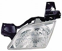 1997 - 1998 Pontiac Trans Sport Headlight Assembly - Left (Driver)