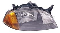1998 - 2001 Suzuki Swift Front Headlight Assembly Replacement Housing / Lens / Cover - Right (Passenger)