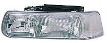 1999-2002 Chevrolet (Chevy) Silverado  Headlight Assembly - Left (Driver)