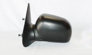 1998-2002 Mazda B2500 Side View Mirror (Non-Heated / Manual / Fold-Away / Textured Black) - Left (Driver)