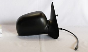 1998-2002 Mazda B2500 Side View Mirror (Non-Heated / Power Remote / Fold-Away / Textured Black) - Right (Passenger)
