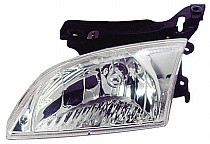 2000 - 2002 Chevrolet (Chevy) Cavalier Front Headlight Assembly Replacement Housing / Lens / Cover - Left (Driver)