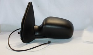 1995-1998 Ford Windstar Side View Mirror (Power Remote / Foldaway / Non-Heated / Prefinished Textured Black) - Left (Driver)