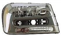 2002 - 2009 Chevrolet (Chevy) Trailblazer Headlight Assembly - Right (Passenger)
