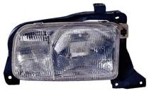 1999 - 2004 Chevrolet (Chevy) Tracker Front Headlight Assembly Replacement Housing / Lens / Cover - Right (Passenger)