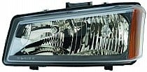 2003 - 2004 Chevrolet (Chevy) Silverado Headlight Assembly - Left (Driver)