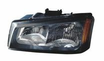 2005 - 2007 Chevrolet (Chevy) Silverado Front Headlight Assembly Replacement Housing / Lens / Cover - Left (Driver)