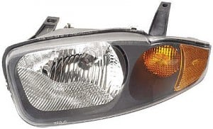 2003-2005 Chevrolet (Chevy) Cavalier Headlight Assembly - Left (Driver)