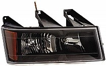 2004-2011 Chevrolet (Chevy) Colorado Headlight Assembly - Right (Passenger)