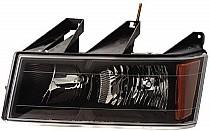2004 - 2012 GMC Canyon Headlight Assembly - Left (Driver)