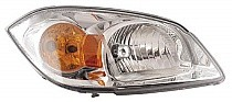 2005 - 2010 Chevrolet Chevy Cobalt Headlight Assembly (Base Model + SS/LT; w/ Yellow Turn Signal) - Right (Passenger)