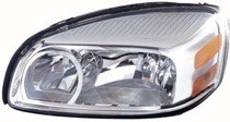 2005 - 2009 Chevrolet (Chevy) Uplander Front Headlight Assembly Replacement Housing / Lens / Cover - Right (Passenger)