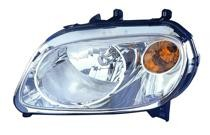 2006 - 2011 Chevrolet (Chevy) HHR Front Headlight Assembly Replacement Housing / Lens / Cover - Left (Driver)
