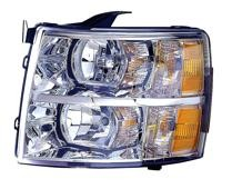 2007-2013 Chevrolet (Chevy) Silverado  Headlight Assembly - Left (Driver)