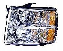 2007-2011 Chevrolet (Chevy) Silverado  Headlight Assembly - Left (Driver)