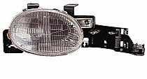 1995 - 1999 Plymouth Neon Front Headlight Assembly Replacement Housing / Lens / Cover - Right (Passenger)
