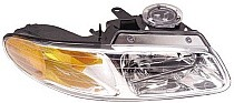 1996 - 1999 Chrysler Town & Country Front Headlight Assembly Replacement Housing / Lens / Cover - Right (Passenger)