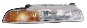 1995-1996 Chrysler Cirrus Headlight Assembly (Standard Beam Pattern) - Right (Passenger)