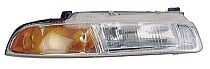 1995 - 1996 Plymouth Breeze Headlight Assembly (Standard Beam pattern) - Right (Passenger)