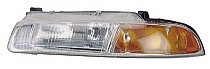 1995 - 1996 Chrysler Cirrus Headlight Assembly (Standard Beam Pattern) - Left (Driver)
