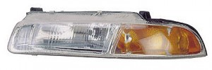 1995-1996 Chrysler Cirrus Headlight Assembly (Standard Beam Pattern) - Left (Driver)