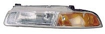 1995 - 1996 Plymouth Breeze Headlight Assembly (Standard Beam Pattern) - Left (Driver)