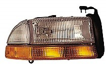 1998 - 2004 Dodge Dakota Front Headlight Assembly Replacement Housing / Lens / Cover - Right (Passenger)