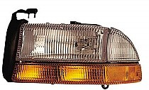 1998 - 2004 Dodge Dakota Front Headlight Assembly Replacement Housing / Lens / Cover - Left (Driver)