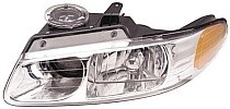 2000 Dodge Caravan Headlight Assembly (with Quad Headlamps - Left (Driver)
