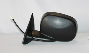 1998-2000 Dodge Durango Side View Mirror (Power Remote / Non-Heated / Foldaway) - Left (Driver)