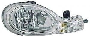 2000-2002 Dodge Neon Headlight Assembly - Right (Passenger)