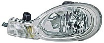 2000 - 2002 Dodge Neon Front Headlight Assembly Replacement Housing / Lens / Cover - Left (Driver)
